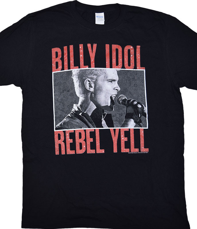 Rebel Yell Black T-Shirt Tee