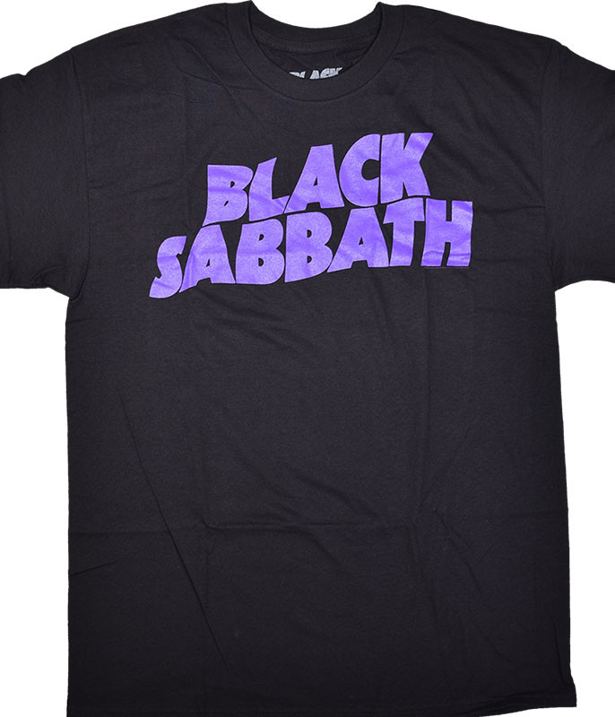 Black Sabbath Clasic Logo Black T-Shirt Tee