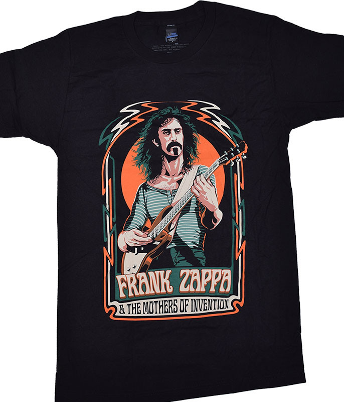 Zappa Illustration Black T-Shirt