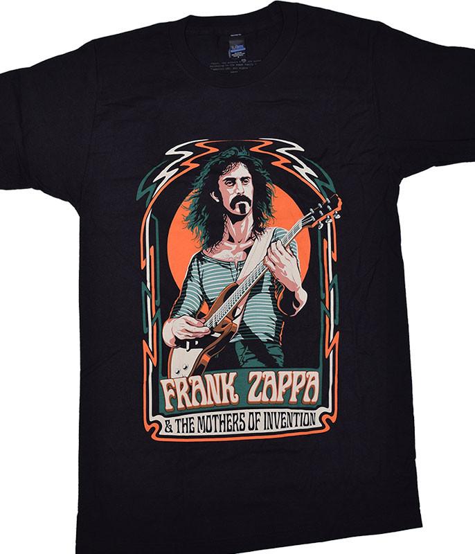 Zappa Illustration Black T-Shirt