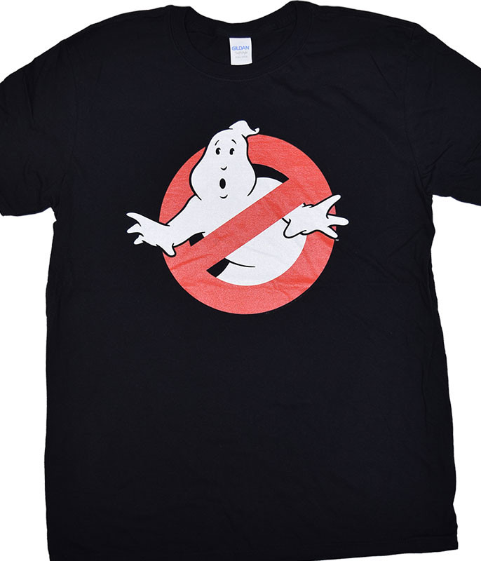 Ghostbusters Symbol Black T-Shirt Tee