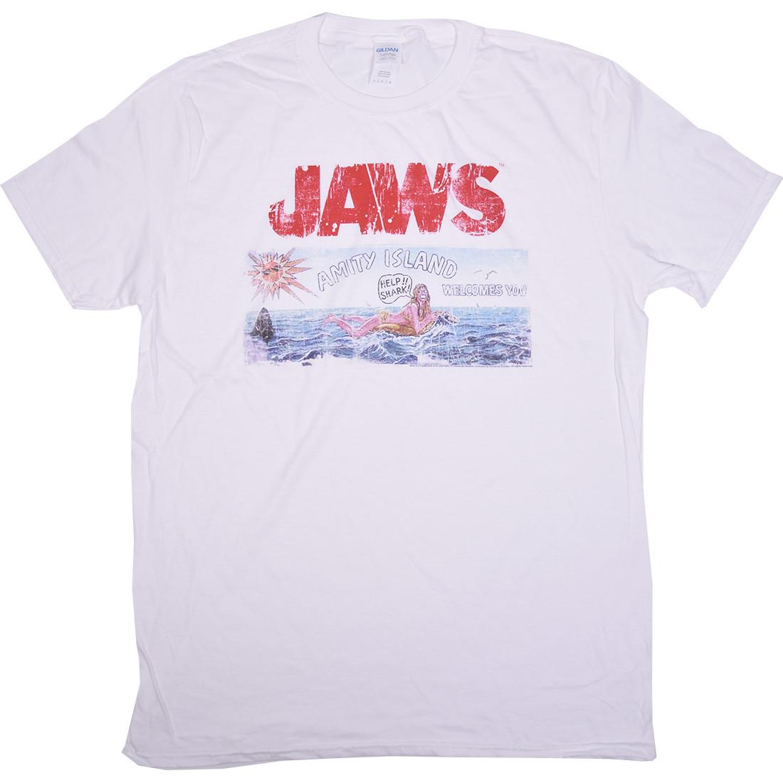 Jaws Island White T-Shirt