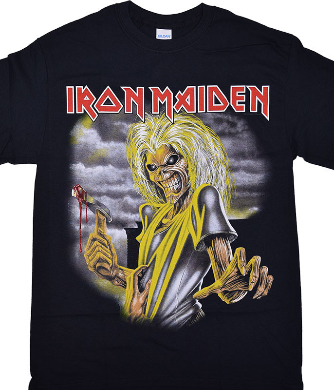Iron Maiden Killers Black T-Shirt Tee