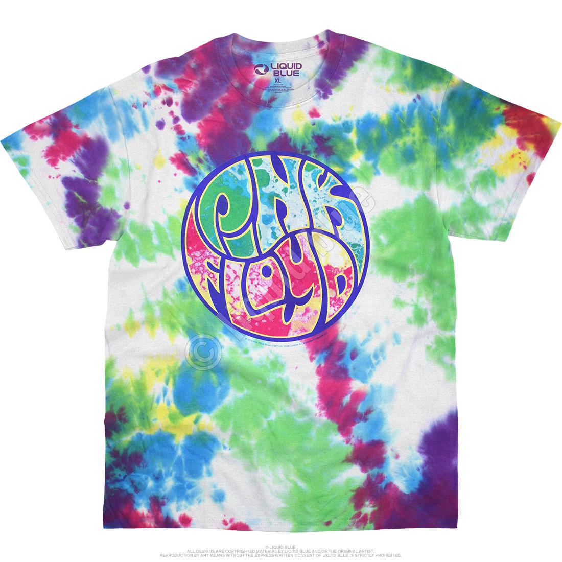 Liquid Light Show Tie-Dye T-Shirt