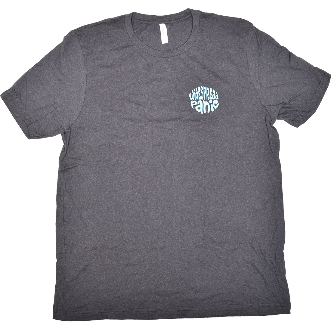 Widespread Panic NE Song Title Grey Poly-Cotton T-Shirt