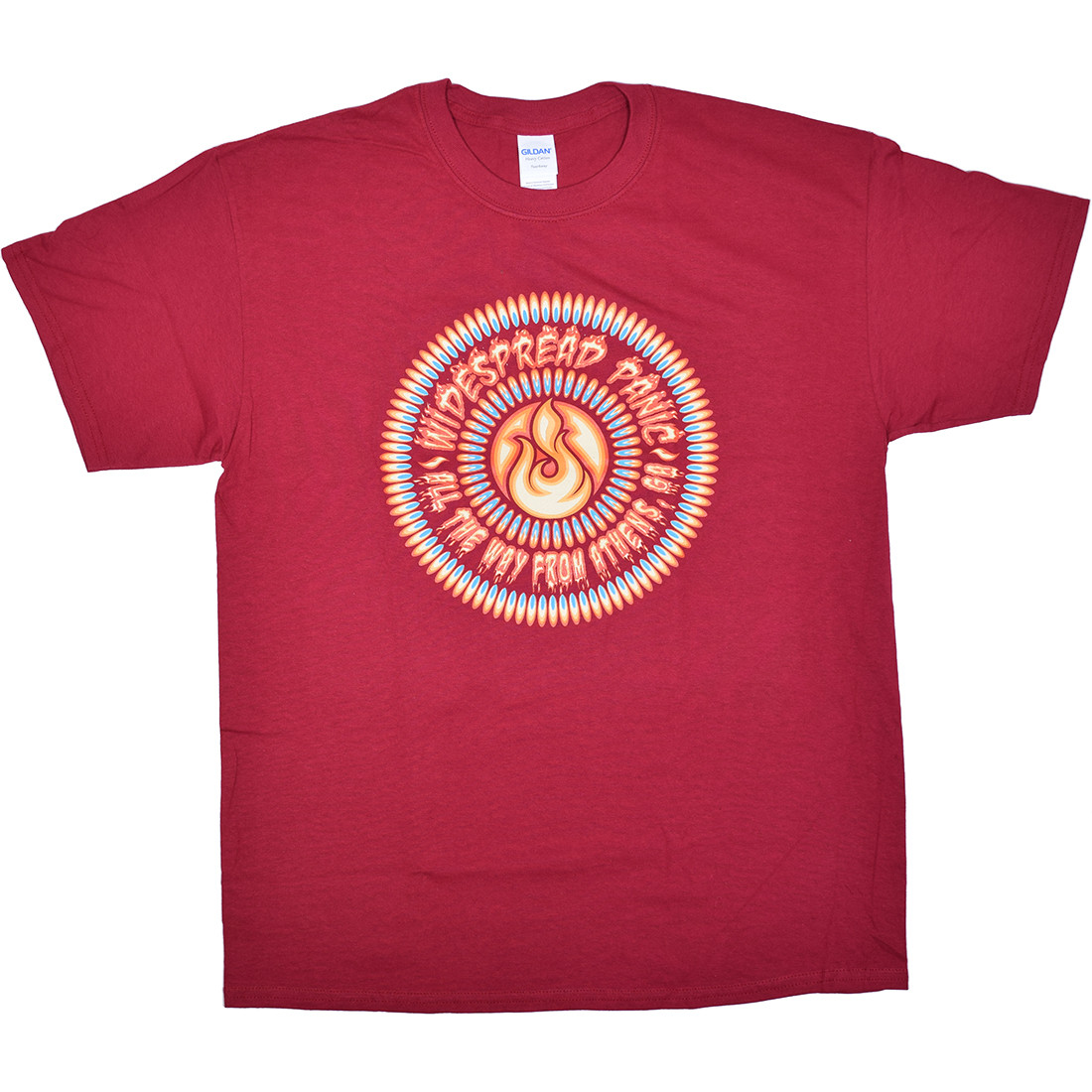 Widespread Panic All The Way From Athens Red T-Shirt