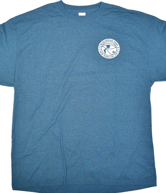 Widespread Panic New Years Eve Cobra Blue T-Shirt Tee