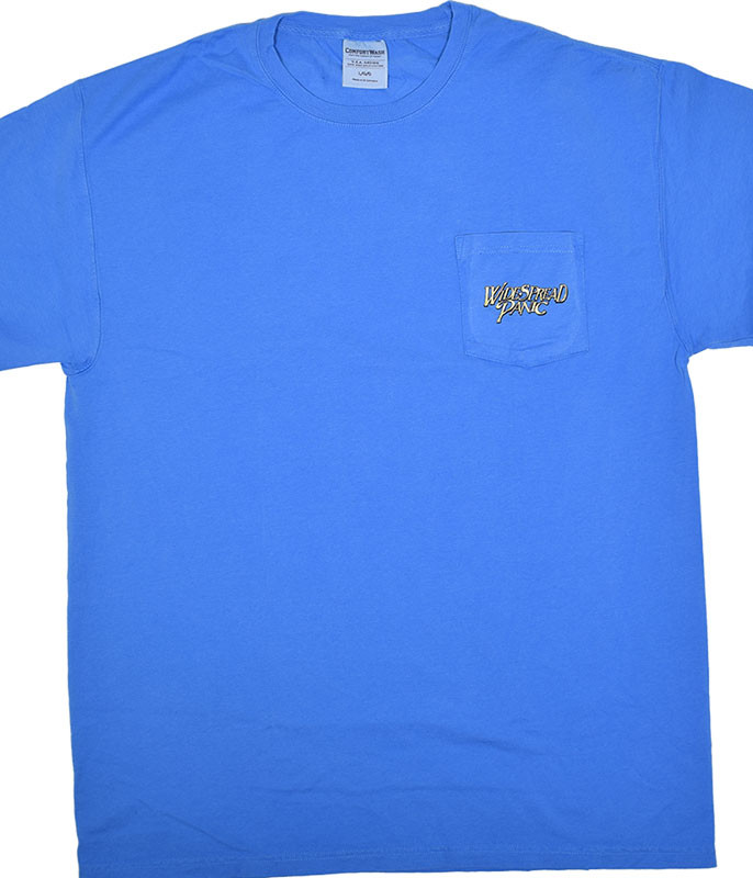 Widespread Panic St Augustine Pocket Blue T-Shirt Tee
