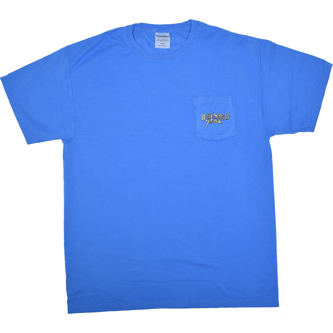 Widespread Panic St Augustine Pocket Blue T-Shirt