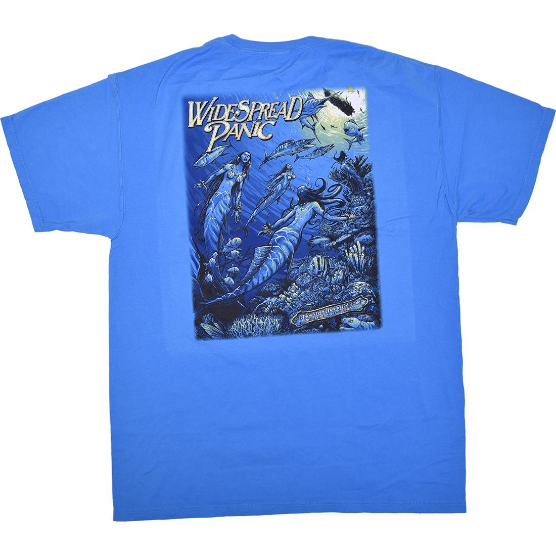 Widespread Panic St Augustine Pocket Blue T-Shirt