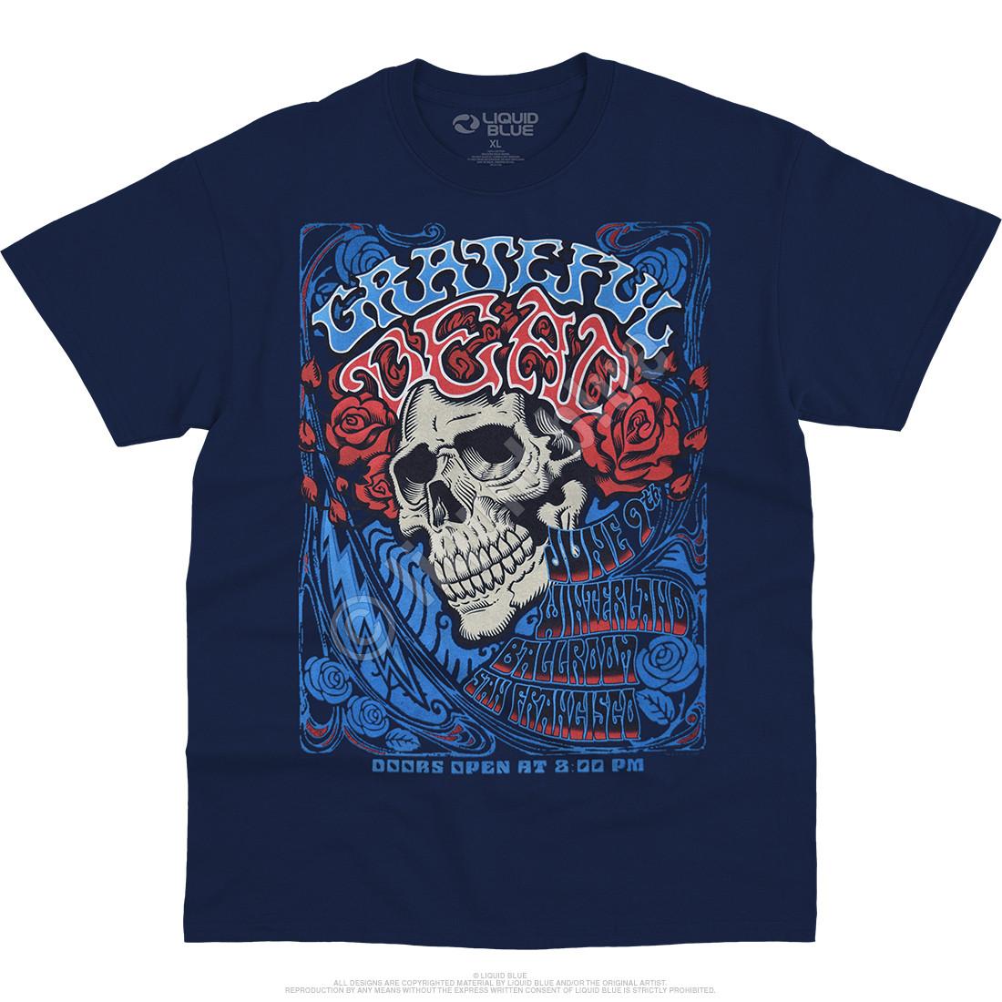 Bertha Ballroom Navy T-Shirt