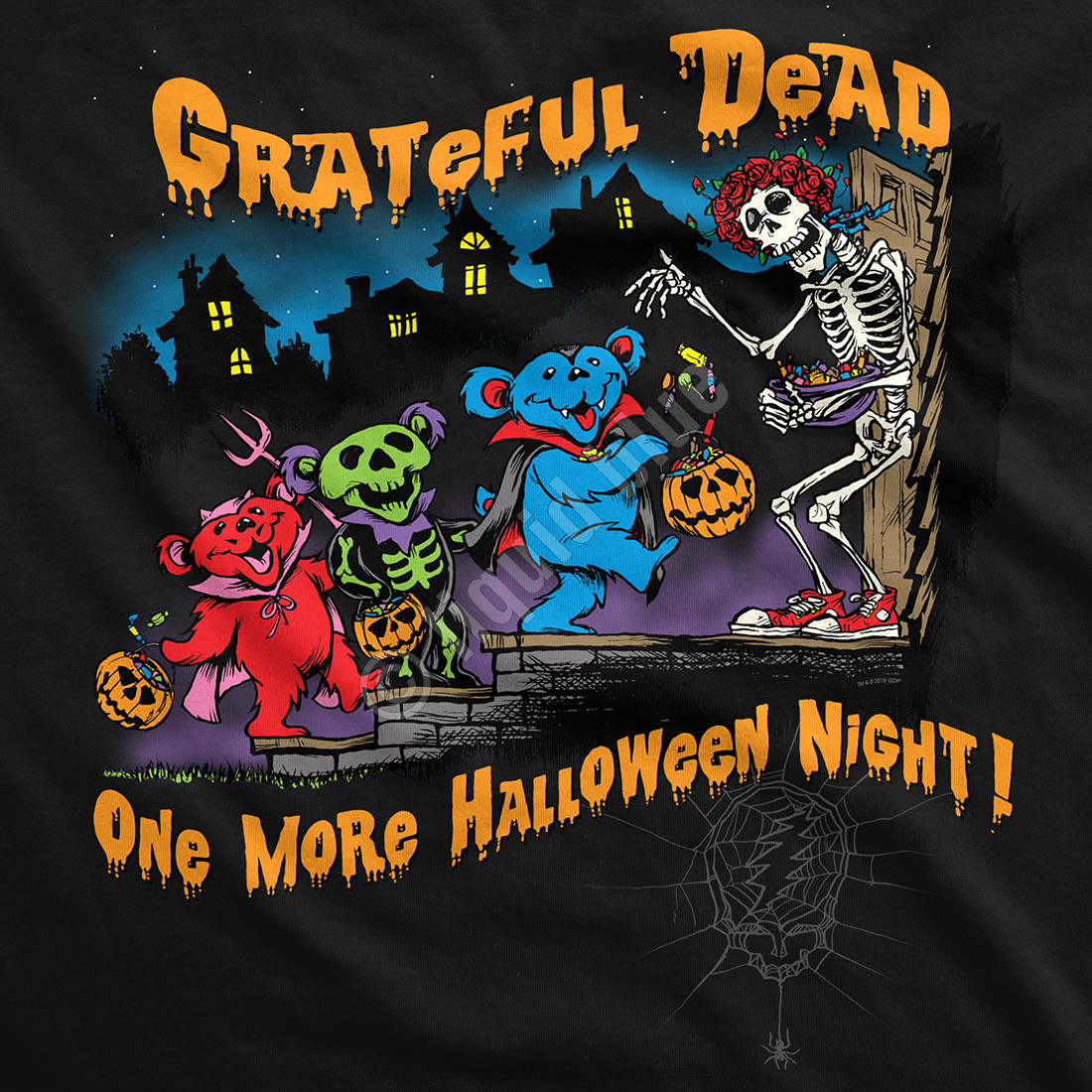 Halloween Night Black T-Shirt