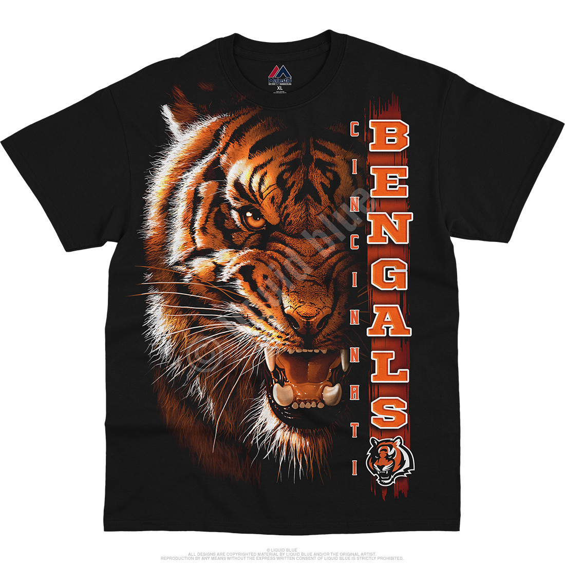 Cincinnati Bengals Franchise Black T-Shirt