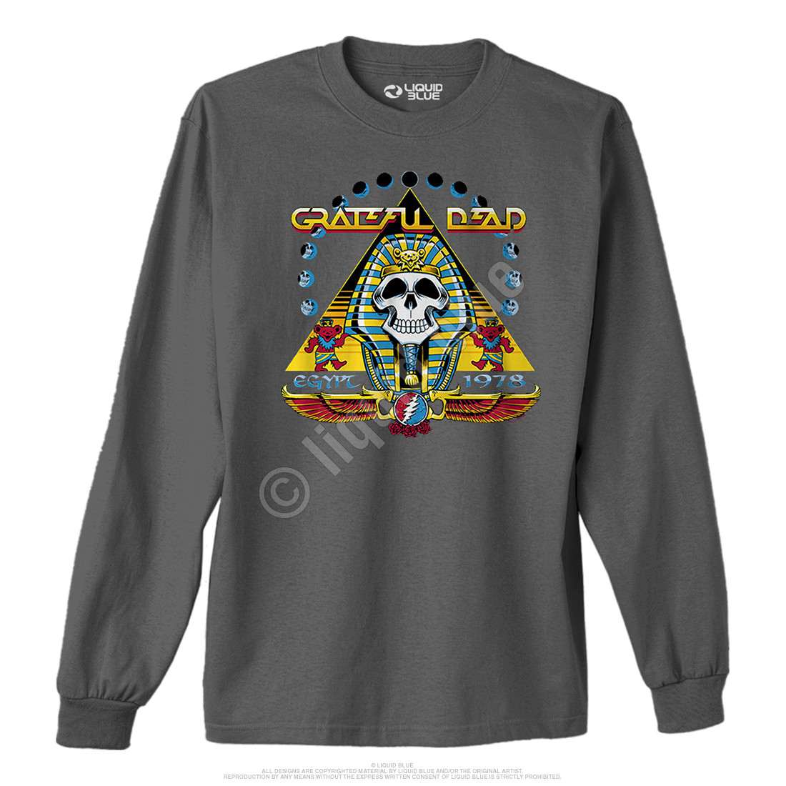 Egypt 78 Grey Long Sleeve T-Shirt