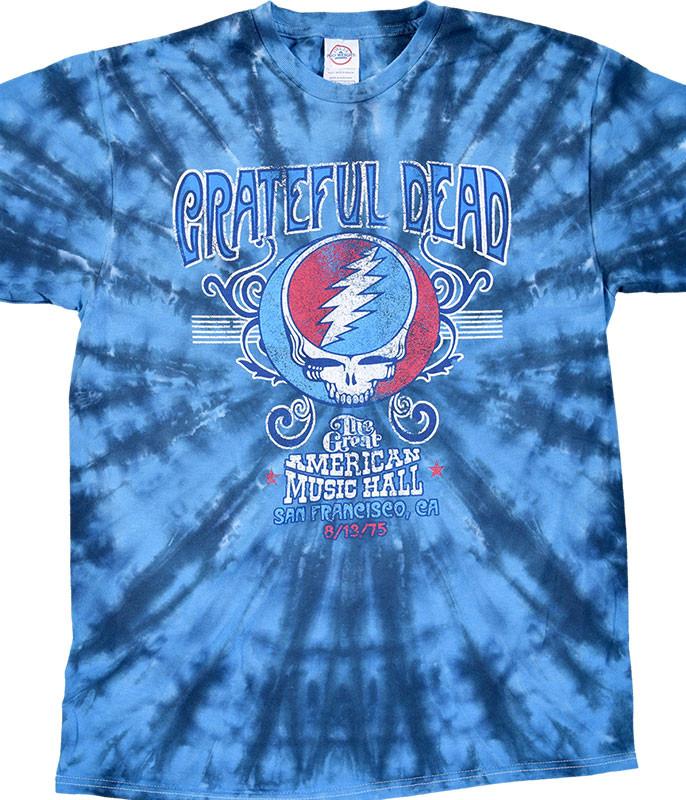 GD American Music Hall Tie-Dye T-Shirt