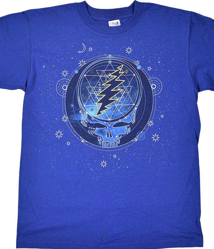 GD Mystical Stealie Blue T-Shirt
