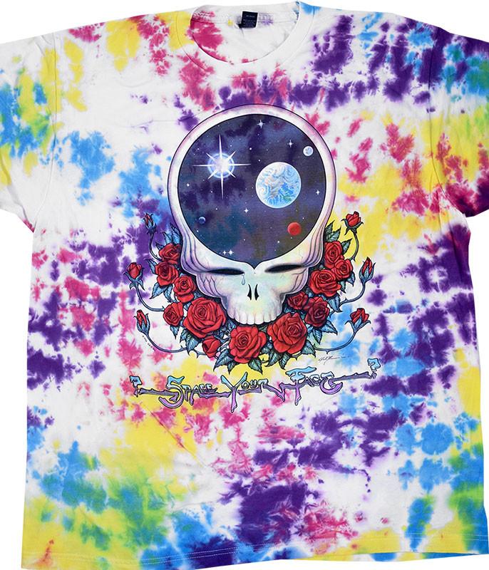 GD Space Face Tie-Dye T-Shirt