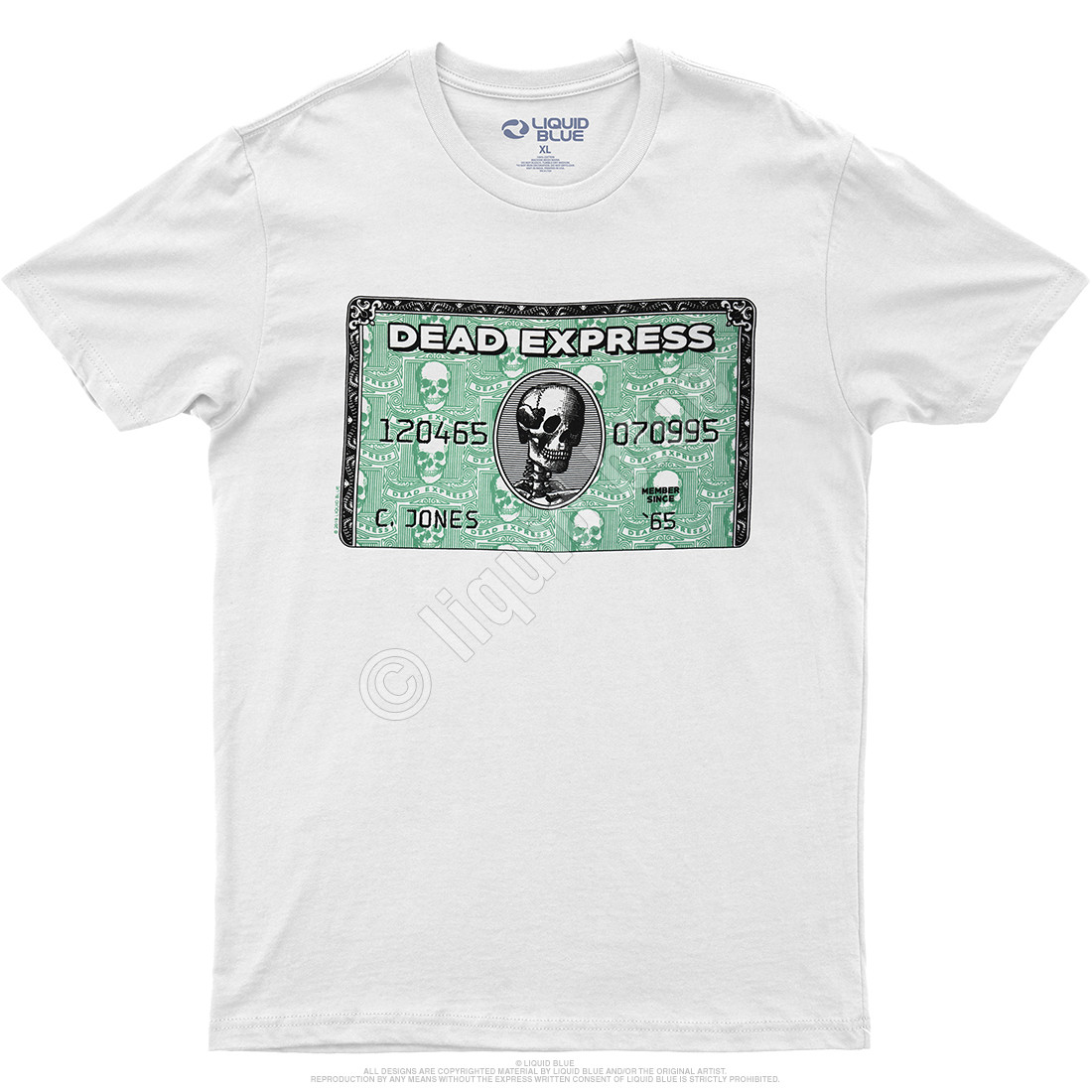 Dead Express White Athletic T-Shirt
