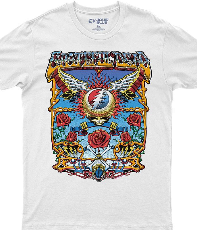 Flying SYF White Athletic T-Shirt