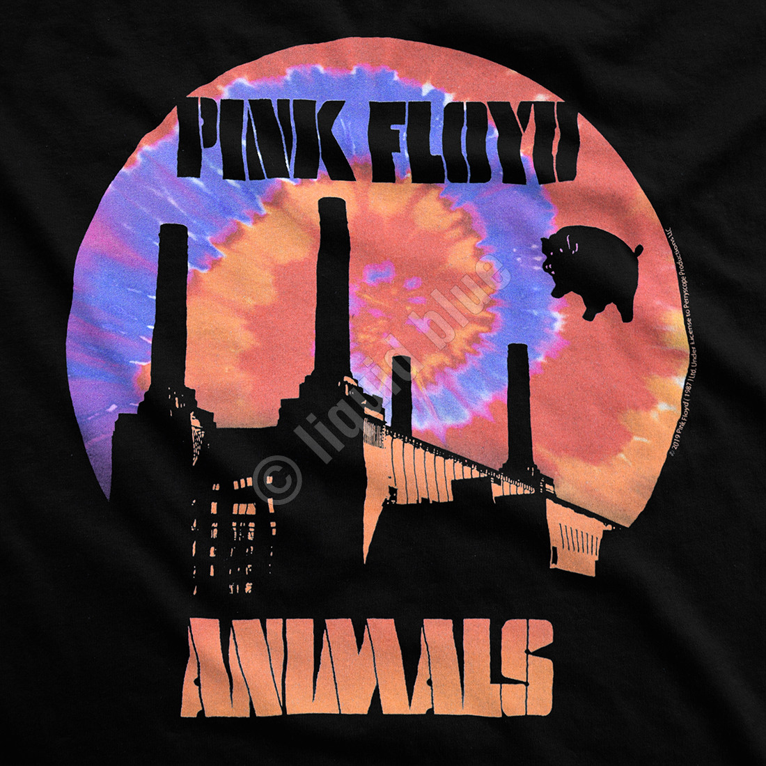 When Pigs Fly Black T-Shirt