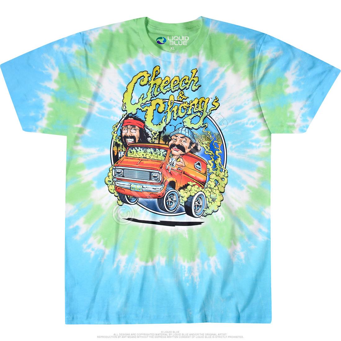 Smokin Ride Tie-Dye T-Shirt