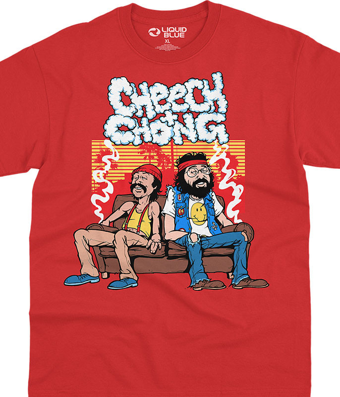 Couch Locked Red T-Shirt