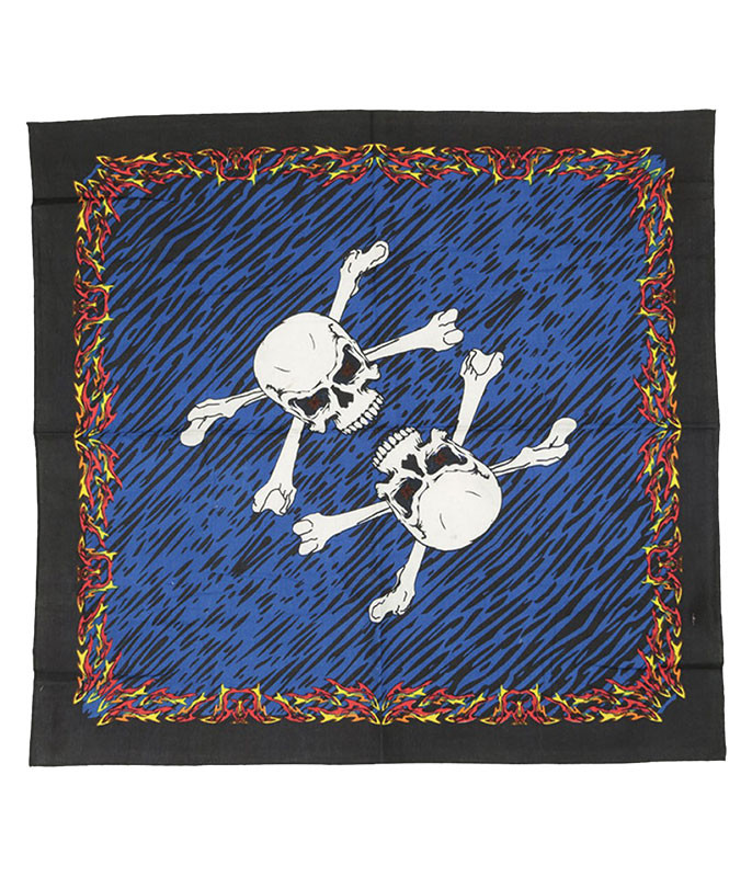 Fire And Bones 3D Bandana