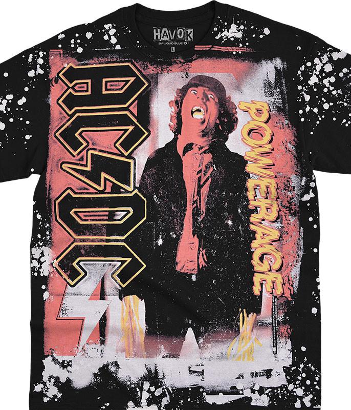 High Voltage Havok Black T-Shirt