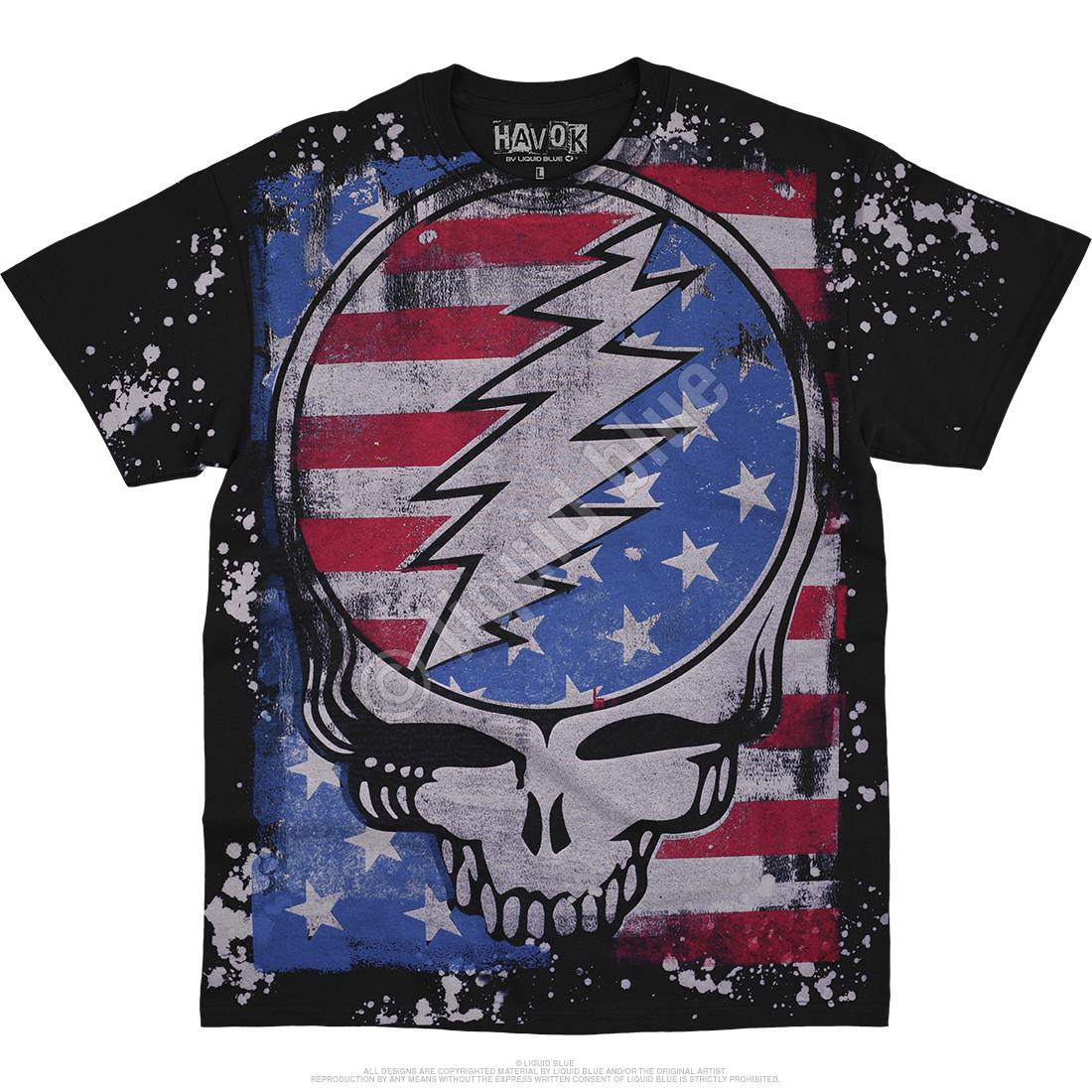 True Blue SYF Havok Black T-Shirt