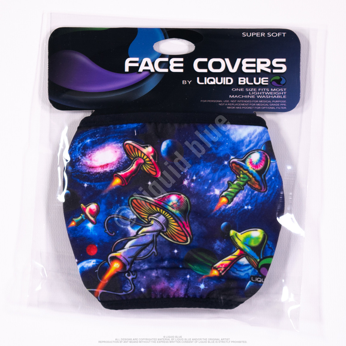 Galaxy Shrooms Face Covering