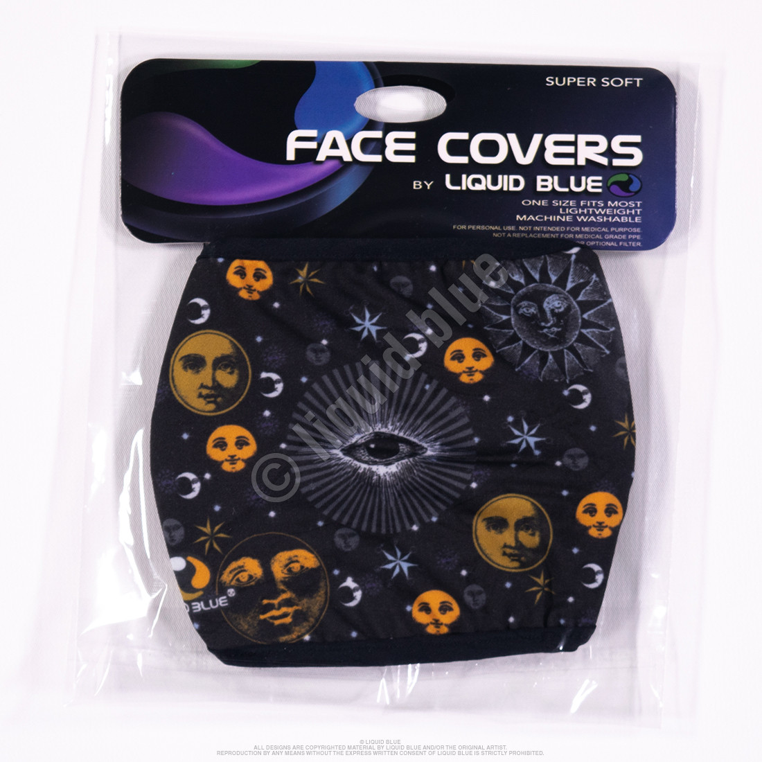 Cosmic Eyes Face Covering