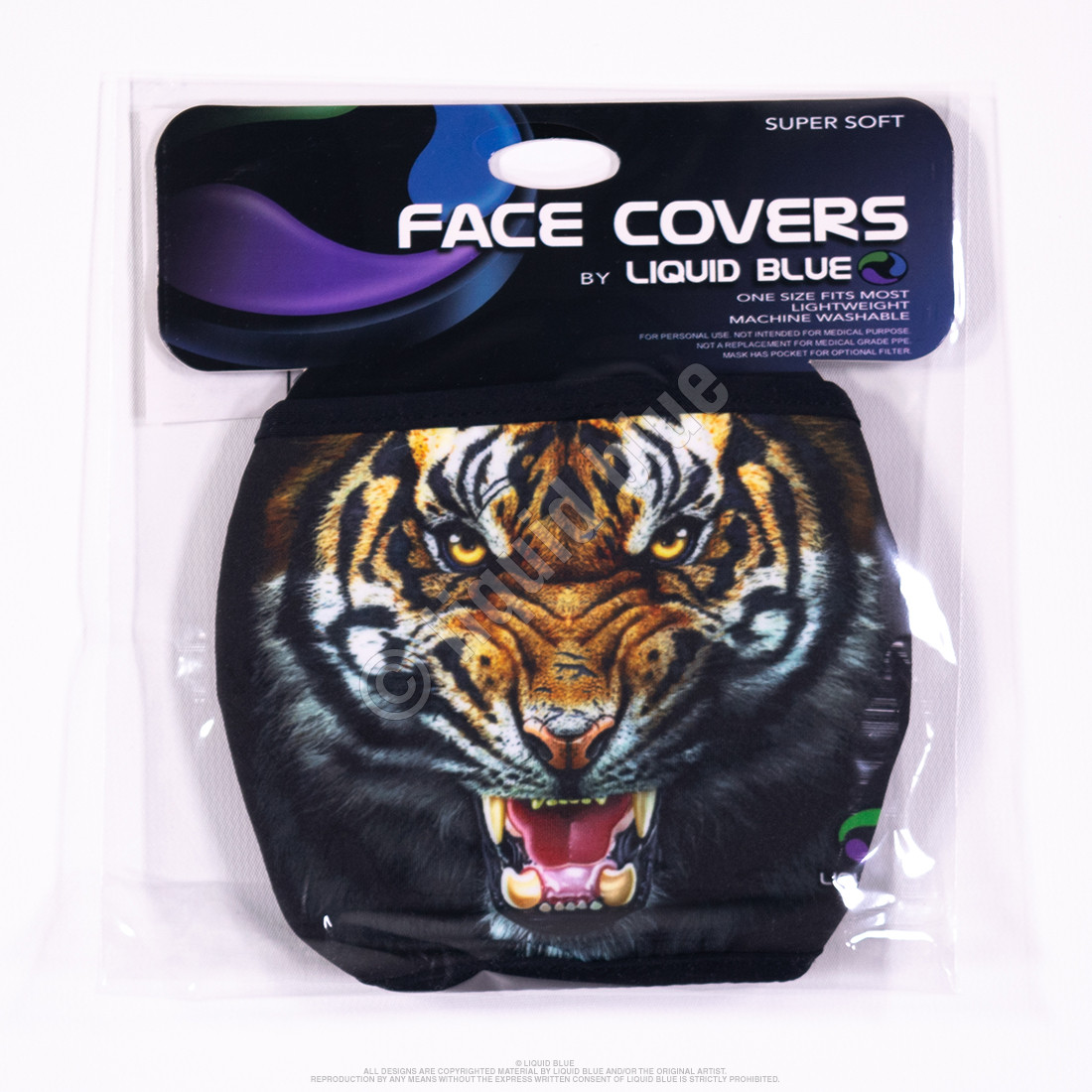 Tiger Face Face Covering