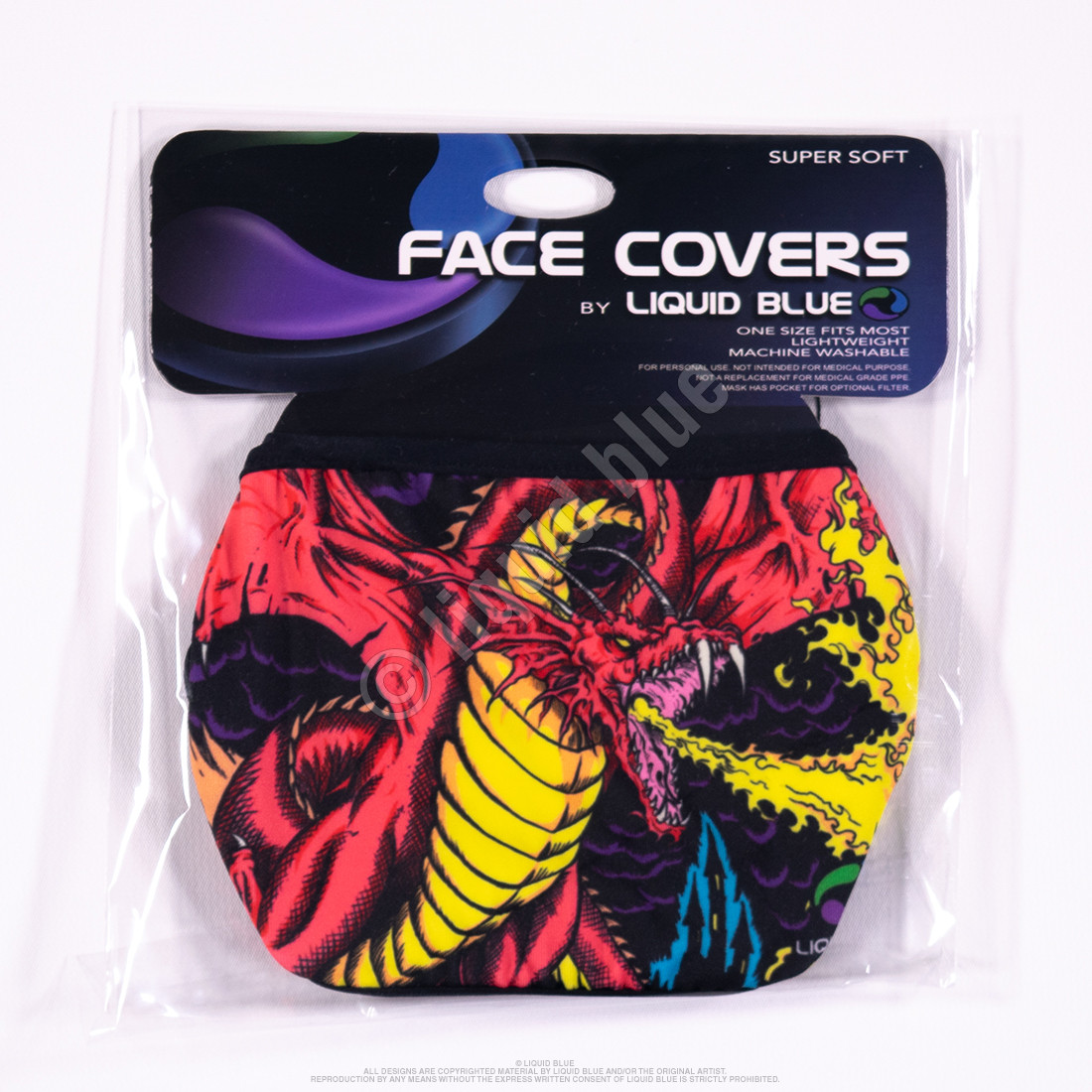 Dragon Face Covering
