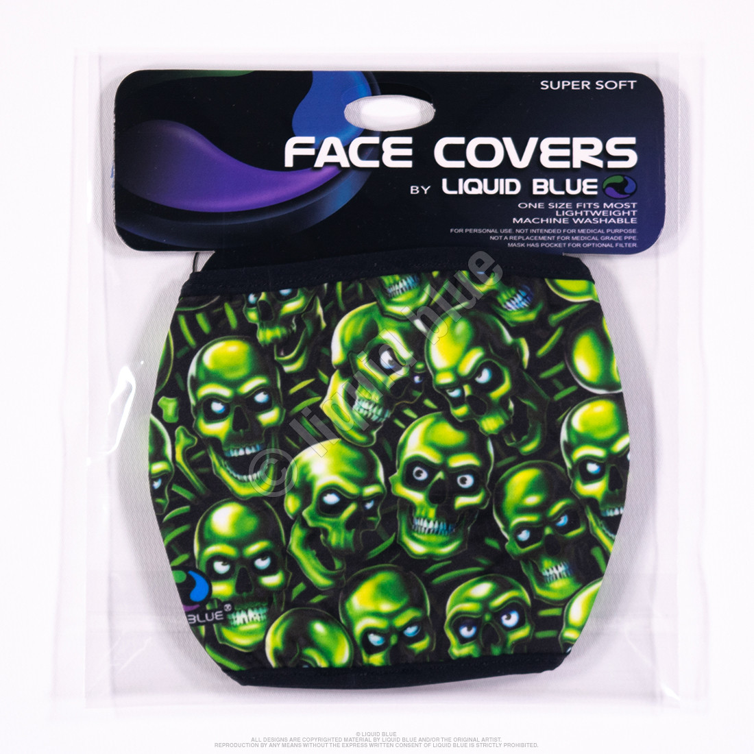 Skull Pile Face Covering
