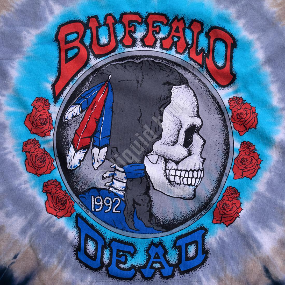 Buffalo Nickel Tie-Dye T-Shirt
