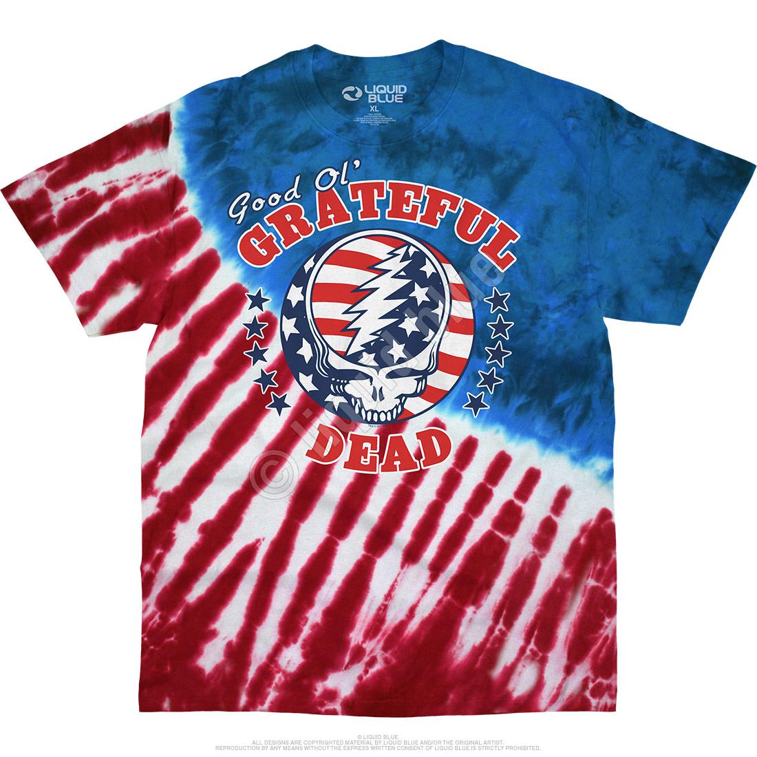 Good Ol GD Tie-Dye T-Shirt
