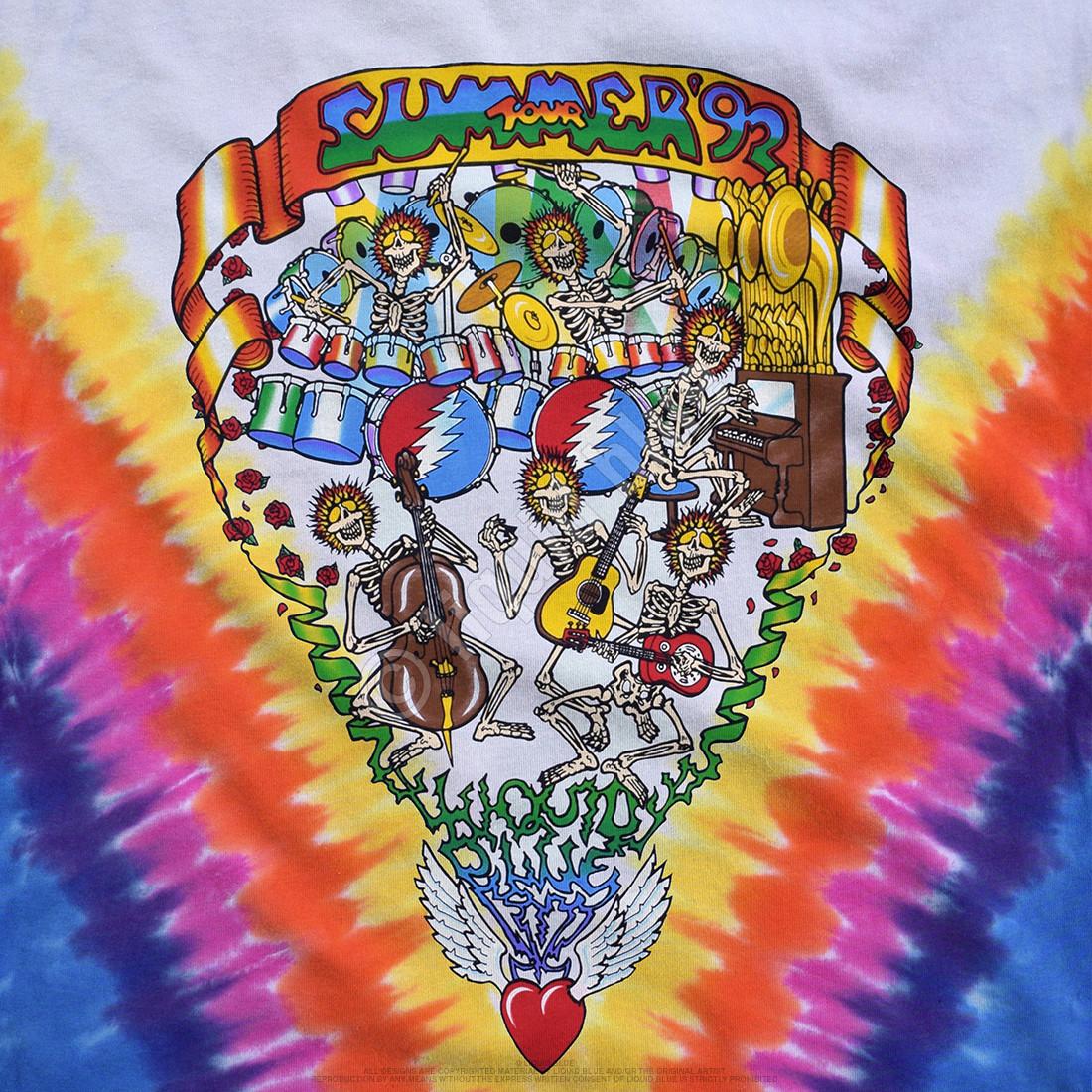 Summer Tour 92 Tie-Dye T-Shirt