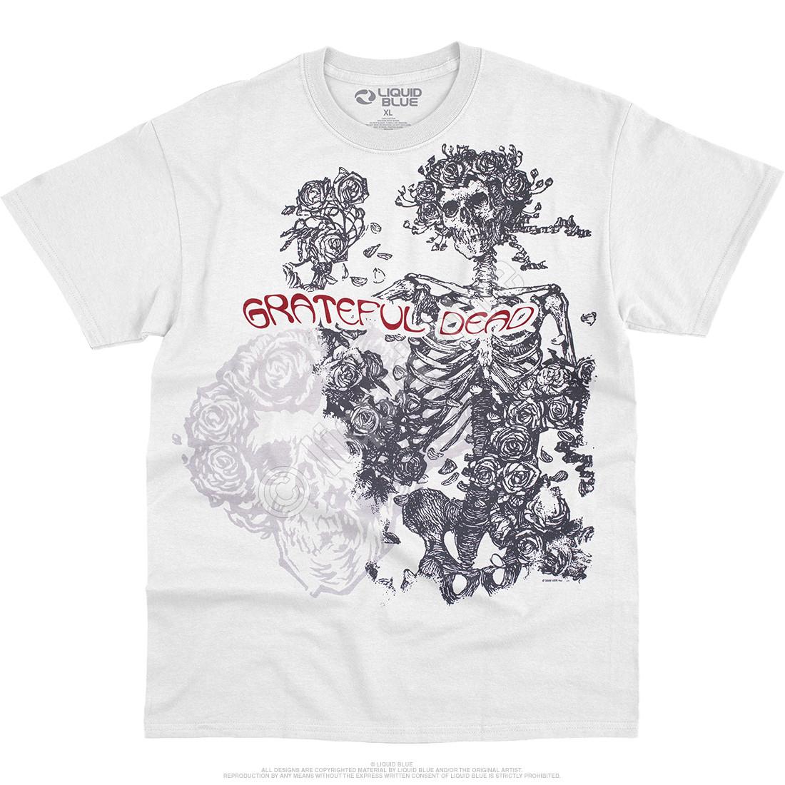 Woodcut Redux White T-Shirt