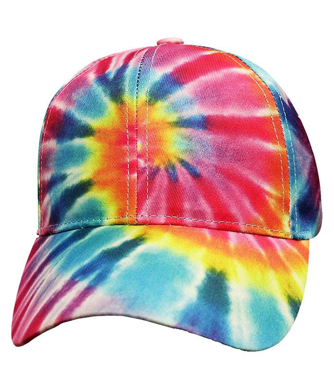 Tie-Dye Pastel Spiral Hat
