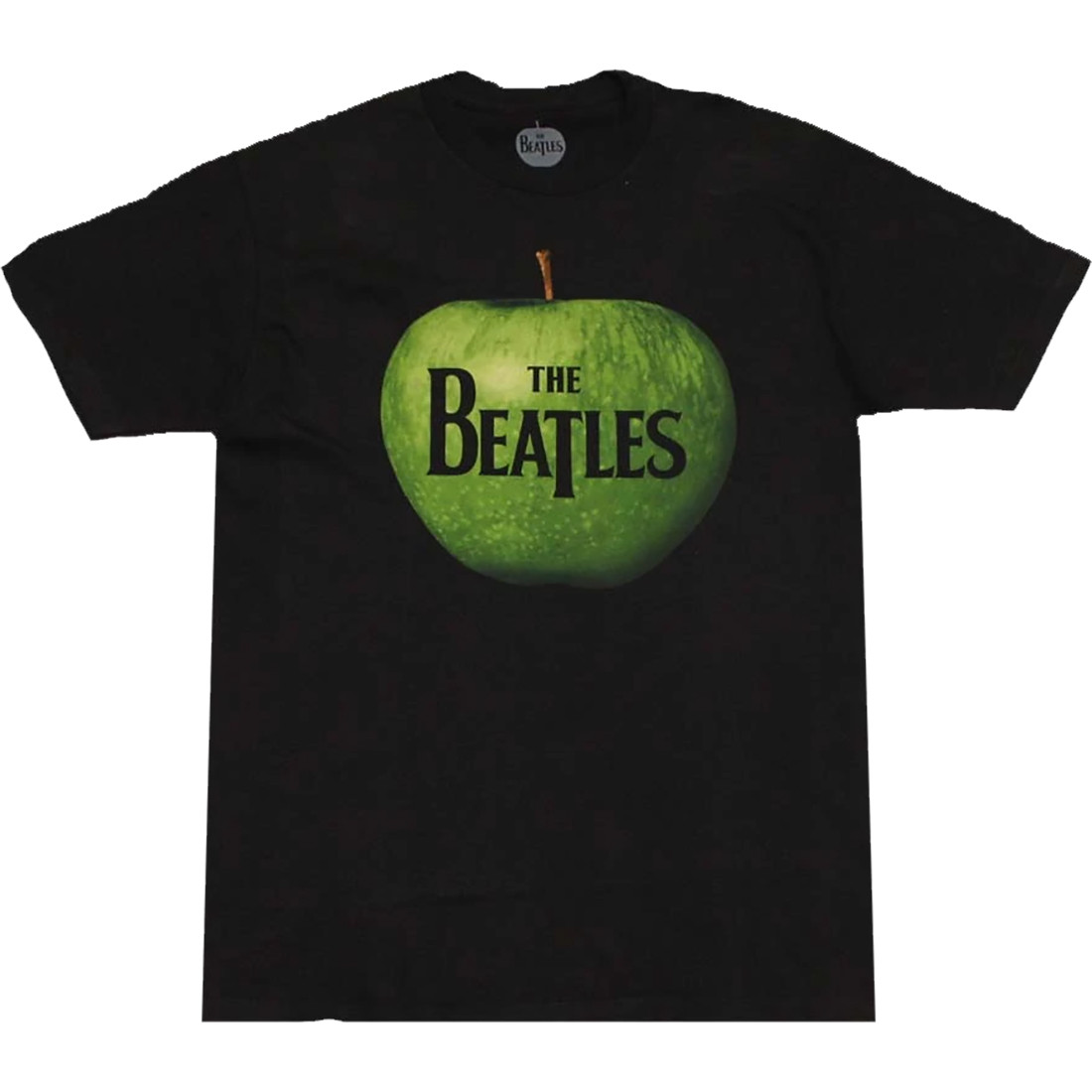 Beatles Apple Logo Black T-Shirt