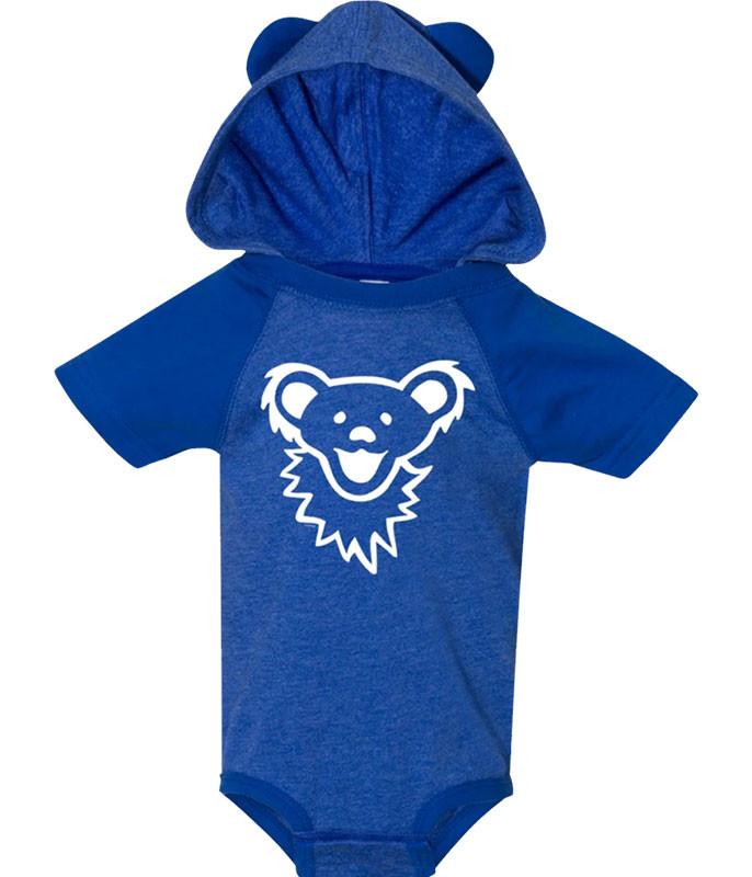 GD Bearface Hooded Blue Onesie