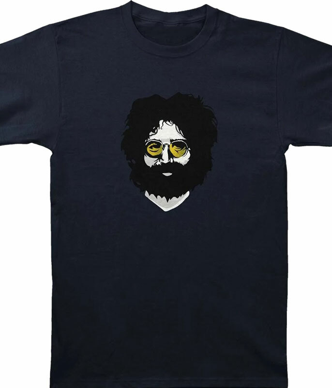 Jerry Garcia Creamery Blue T-Shirt Tee