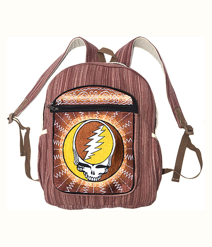 Grateful Dead SYF Burst Striped Backpack