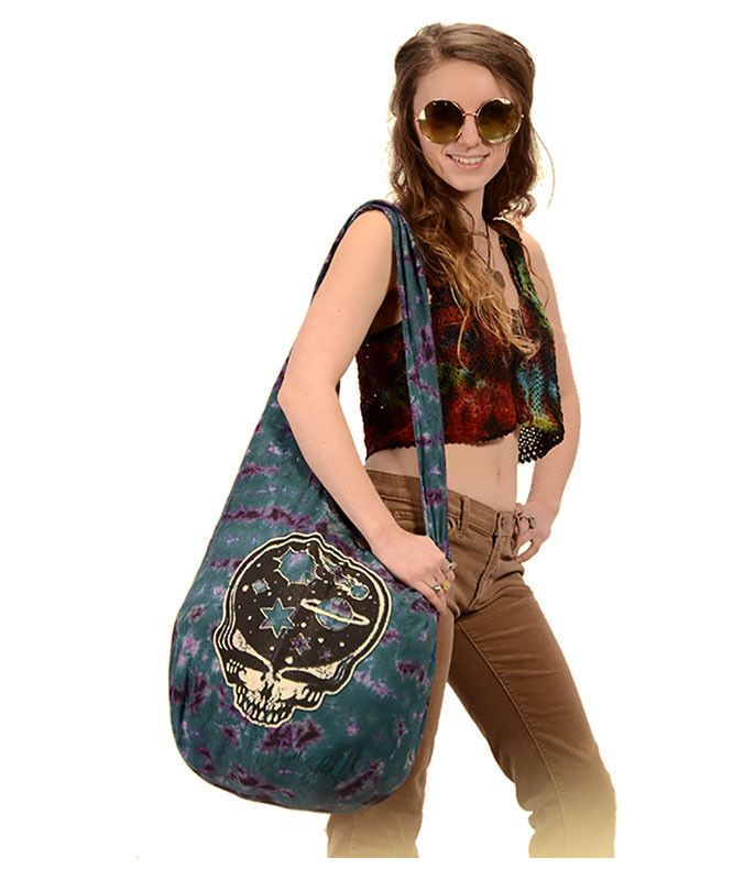 Grateful Dead Stealie Night Peddler Bag