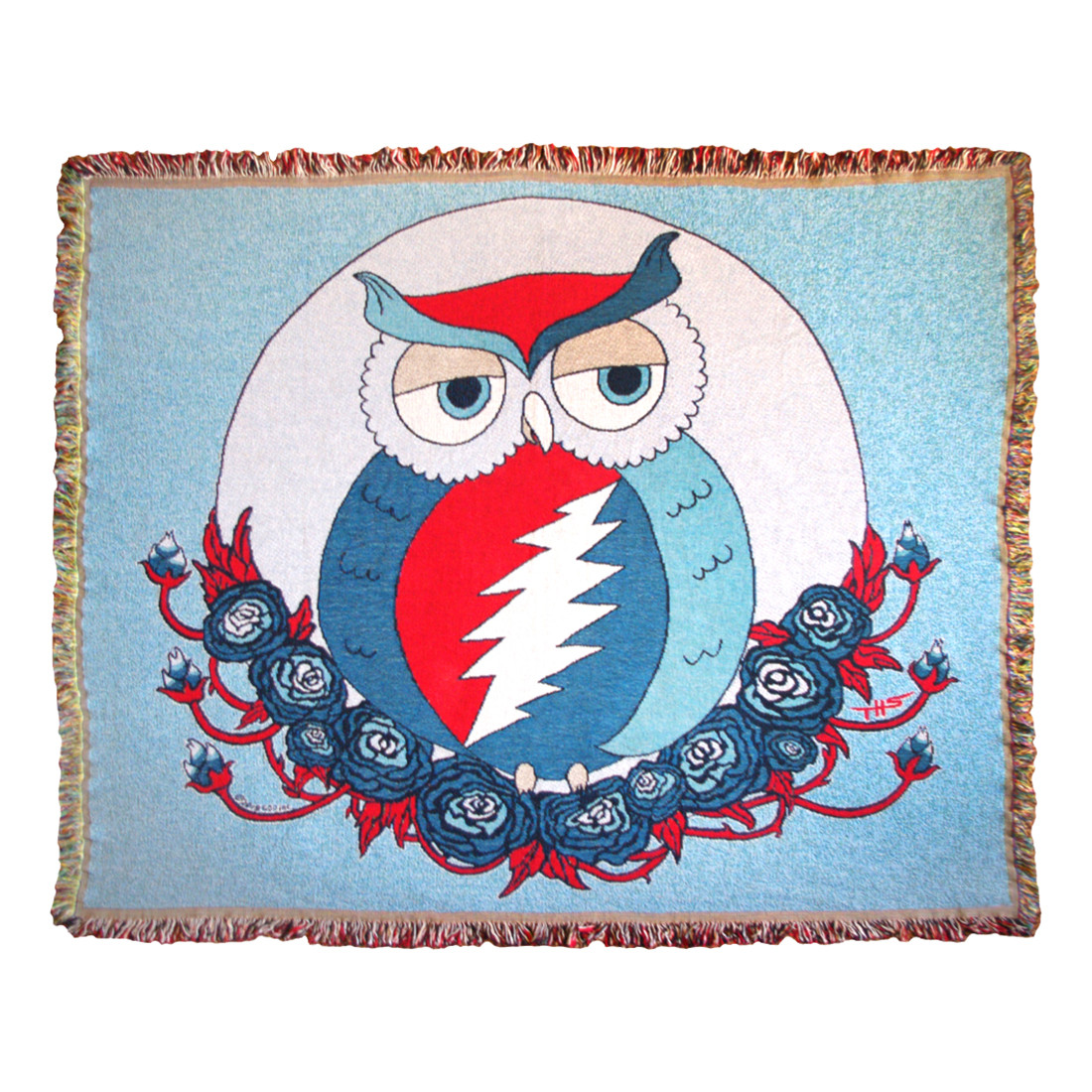 GD Steal Owl Woven Blanket