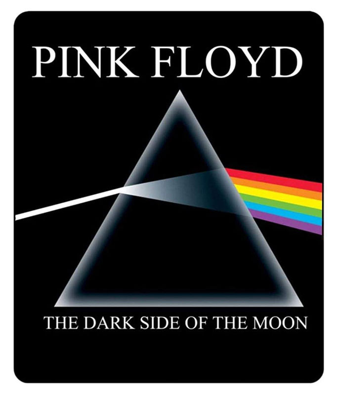 Pink Floyd Dark Side Fleece Blanket