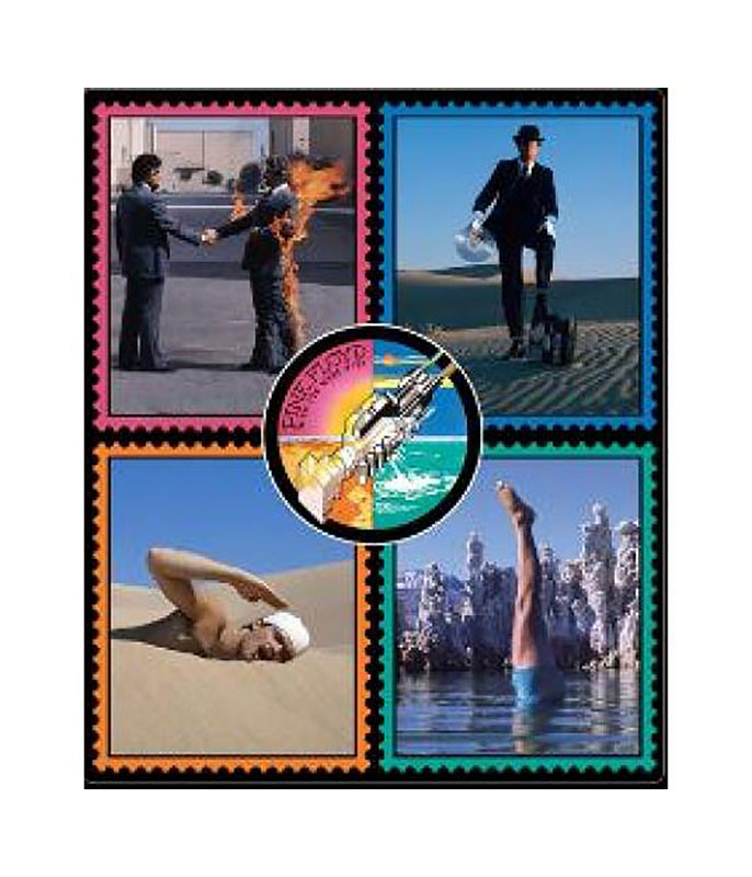 Pink Floyd Wish You Were Here Fleece Blanket