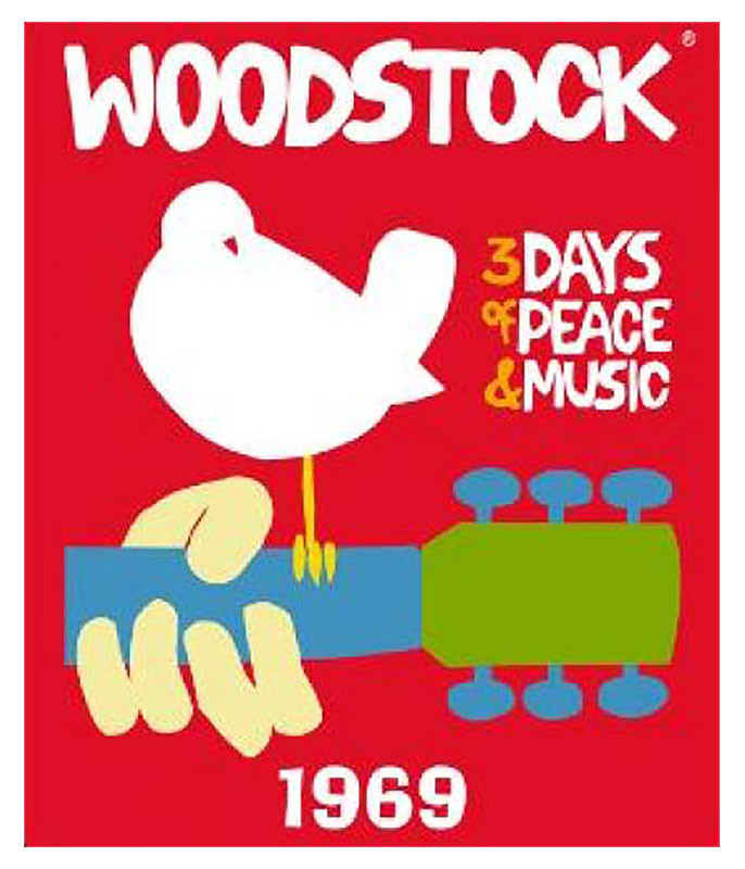 Woodstock 69 Fleece Blanket
