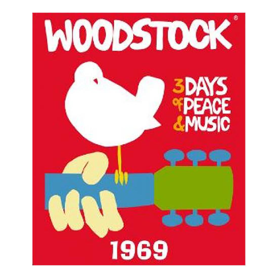 Woodstock 69 Fleece Blanket