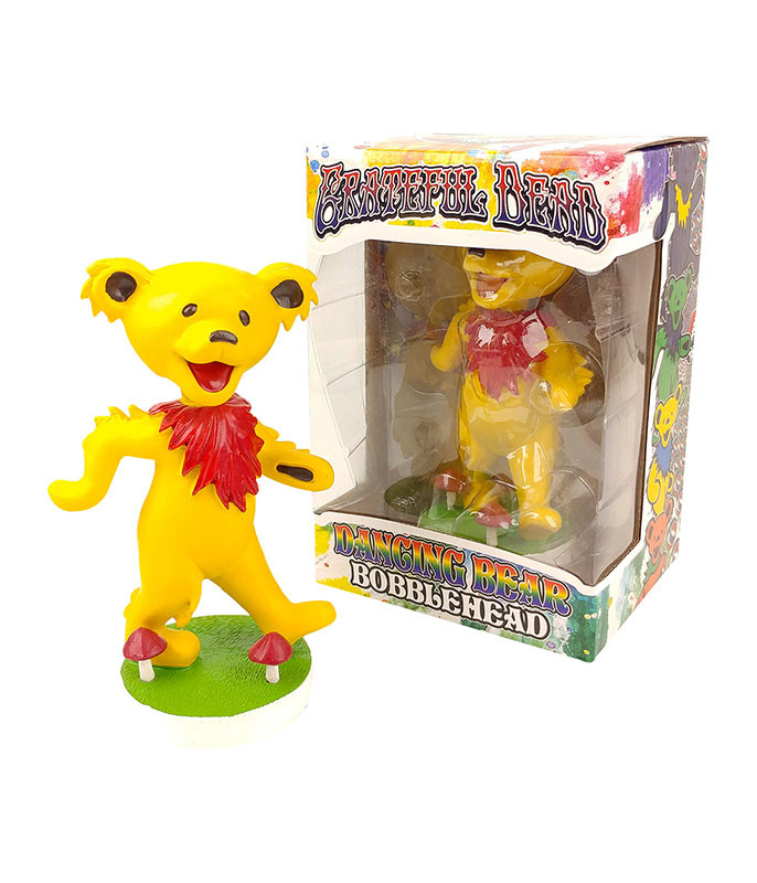 Grateful Dead Bobble Head Dancing Bear Yellow